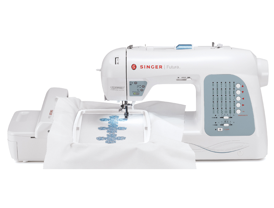 Singer Futura Xl 40 Computerized Sewing Embroidery Machine Delectable Sewing Embroidery Machine Reviews 2015