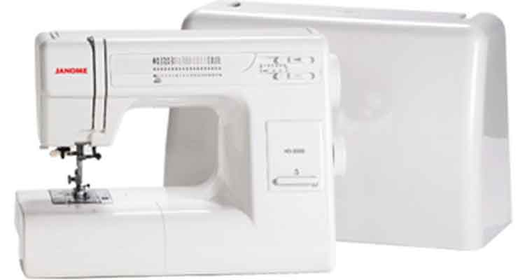 Janome HD3000 with case