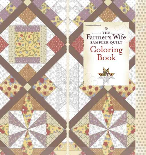 coloring book for quilters