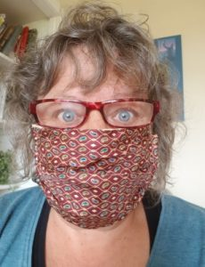 Making Face Masks from Fat Quarters